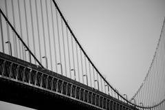 Les vagues du pont Photo libre de droits