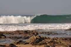 Les vagues me rendent heureux Photos stock