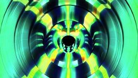 Les vagues numériques brillantes palpitent dans gentil frais de nouveau de qualité de fond d'animation de graphiques de mouvement illustration de vecteur