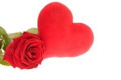 Les Valentines se sont levés Photographie stock libre de droits