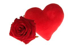 Les Valentines se sont levés Image stock