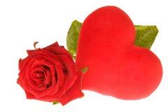 Les Valentines se sont levés Photo libre de droits