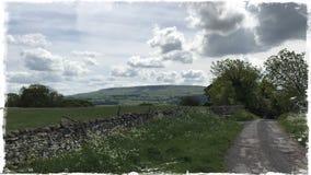 Les vallées de Yorkshire Image stock