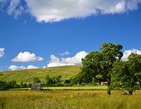 Les vallées de Yorkshire Photos libres de droits