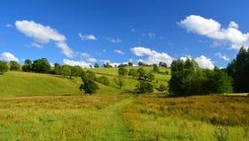 Les vallées de Yorkshire Photo libre de droits