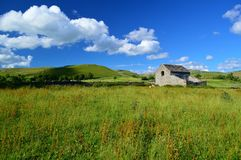 Les vallées de Yorkshire Photographie stock