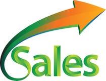 Les ventes est en hausse Photos stock
