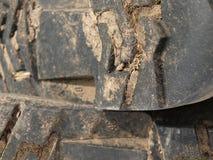 Les vieilles gaines modifiées rugueuses se ferment vers le haut de l'image Photographie stock