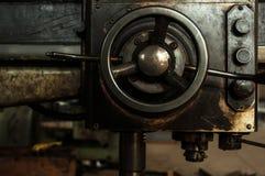 Les vieilles pièces de machine Image libre de droits