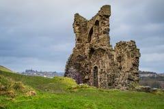 Les vieilles ruines. Photo libre de droits