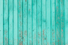 Les vieux conseils en bois ont peint le fond Images stock