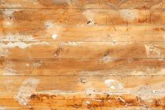 Les vieux conseils en bois ont peint le fond photo libre de droits