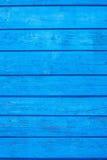 Les vieux panneaux peints de couleur bleue Photographie stock