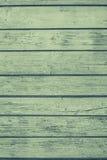 Les vieux panneaux peints de couleur verte Photo libre de droits