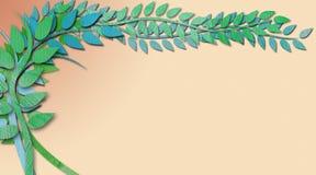 Les vignes graphiques soustraient la frontière de fond en peinture de texture illustration libre de droits