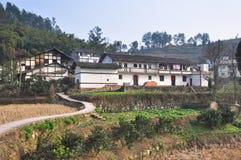 Les villages antiques chinois Photo libre de droits