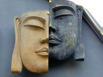 Les visages de Bouddha Image libre de droits