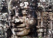 Les visages magnifiques Bayon Photographie stock libre de droits