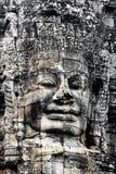 Les visages magnifiques Bayon Image libre de droits