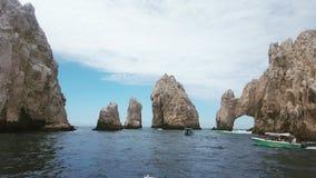 Les voûtes de Cabo Photographie stock libre de droits