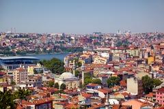 Les voisinages residental des maisons dans la région de Besiktas, I photos stock