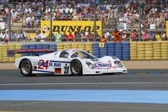 Les 24 voitures de du Mans de heures Images stock