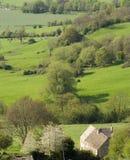 Les vues du pays de côte de Crickley stationnent près de Gloucester Photos stock