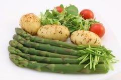 Les weightloss sains suivent un régime la nourriture image stock