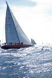 LES YACHTS CLASSIQUES DE PANERAI CONTESTENT 2008 Images stock