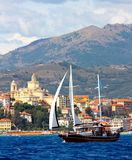 Les yachts classiques de Panerai contestent 2008 Photos libres de droits