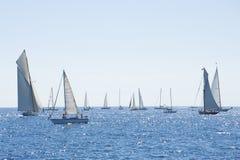 Les yachts classiques de Panerai contestent 2010 - des Imperia Photos stock