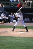Les Yankees de barre de Scranton Wilkes battent Luis Nunez Images stock