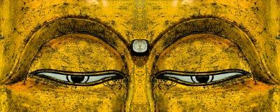 Les yeux de Bouddha Photographie stock