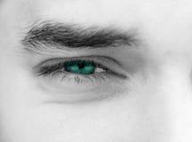 Les yeux de jeune homme Photos libres de droits