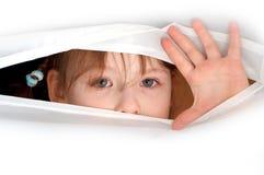 Les yeux est un miroir d'âme Photographie stock libre de droits
