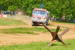 Tatra Dakar version in action royalty free stock photos