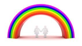 lesbian пар Стоковое Изображение
