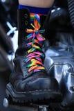 Lesbian bike Stock Images
