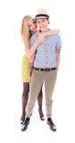 Lesbian couple embracing Stock Photo
