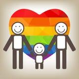 Lesbian family Stock Images