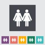 Lesbian sign Stock Photos