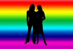 Lesbiana ilustración del vector