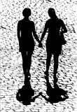Lesbianas imagen de archivo