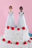 Lesbianwedding couple Stock Photo