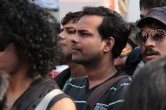 Lesbische en Vrolijke parade in Mumbai Royalty-vrije Stock Foto