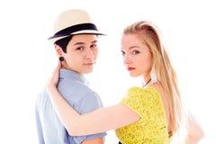 Lesbische romancing Paare stockfotografie