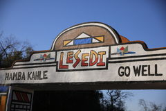 Lesedi Cultural Village Royalty Free Stock Photography