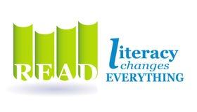 Lesen Sie Bildungsgrad Stockbild