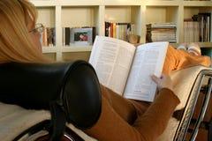 Lesen und Entspannung Stockbild