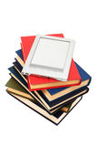 Leser und alte Bücher Lizenzfreie Stockfotografie